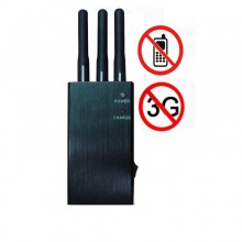 5-Band Portable 3G Cell Phone Signal Jammer