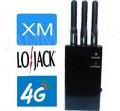Portable XM radio,LoJack and 4G Jammer