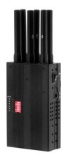 Selectable Portable 3G Cell Phone WiFi Jammer & GPS Signal Jammer