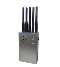 Selectable Portable GPS WiFi 3G Cell Phone Signal Jammer