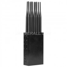 Newest 14 Antennas Portable Jammer 2G/3G/4G Cell Phone 2.4G 5G WiFi GPS RF 315 433 868 Blocker