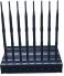 Unique new custom 8-band indoor adjustable VHF signal jammer