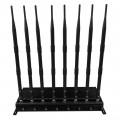 8 Antennas Desktop UHF Signal Jammer 500MHz to 800MHz