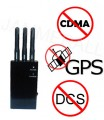 5-Band Portable GPS & Cell Phone Signal Jammer