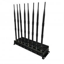 Adjustable Powerful 3G 4G Cellphone Jammer & UHF VHF WiFi Jammer