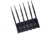 Desktop Adjustable 4W All WiFi (5.2G 5.8G 2.4G) Jammer