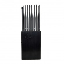 The latest 16-band portable all-in-one wireless signal jammer