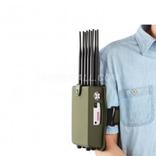 Portable Mobile Phone Jammer Block 2g3g4g Gpsl1 WiFi with  European standard