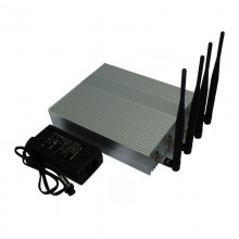 Desktop 4W Powerful All 2.4G WiFi 5G WiFI Signals Jammer