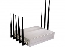 Powerful 8 Antenna Jammer for Mobile Phone GPS WiFi VHF UHF