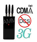 3 Antennas Handheld Mini Cell Phone Jammer