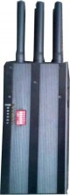 Selectable Portable 3G Phone LoJack GPS Jammer   with High Capacity Battery