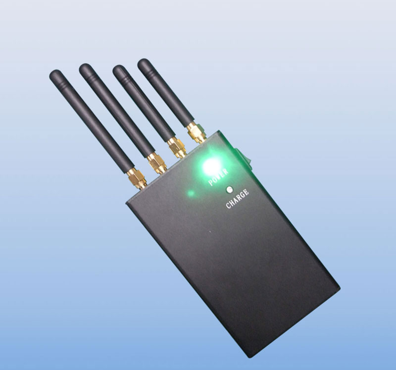 4 Band 4W Portable GPS Cell Phone Signal Jammer