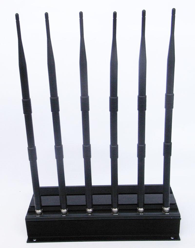 6 antenna vhf jammer - 16 Antennas Camera Blocker
