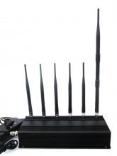 6 Antenna 3G Cell phone & LOJACK Jammer