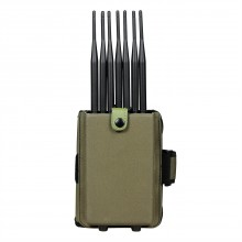 The first portable 14-antenna integrated full-band mobile phone signal jammer shield 315/433/868  GPS WIFI/5GWIFI