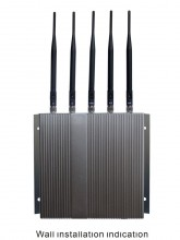 5 Band Cellphone GPS signal Jammer with Remote Control