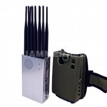 Portable 12 Antennas Jammer All Bands Cellphone 4G/3G/2G + WiFi(2.4G, 5.2G, 5.8G) + GPSL1L2L3L4L5 Blocker