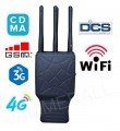 5.5W 6 Antennas Handheld Selectable Cell Phone 2G/3G/4G + WiFi Jammer Blocker with Carry Case
