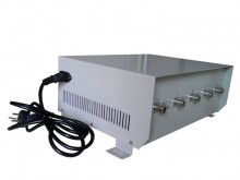 70W High Power Cell Phone Jammer for 4G Wimax with Directional  Antenna
